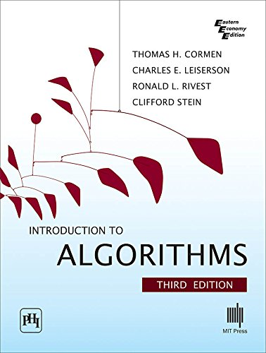 Introduction to Algorithms By Cormen | Best Algorithms Books